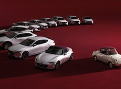 Mazda's 100th Anniversary Special Edition cars look captivating