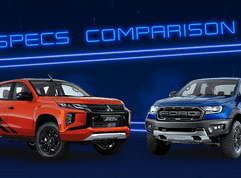 2020 Mitsubishi Strada Athlete vs Ford Ranger Raptor Comparison: Spec Sheet Battle