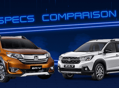 2020 Suzuki XL7 vs Honda BR-V Comparison: Spec Sheet Battle