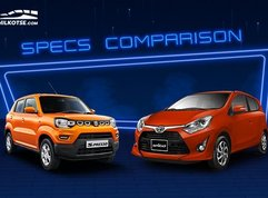 2020 Suzuki S-Presso vs Toyota Wigo Comparison: Spec Sheet Battle