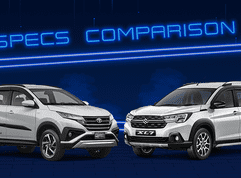 2020 Suzuki XL7 vs Toyota Rush Comparison: Spec Sheet Battle