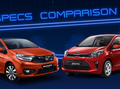 2020 Kia Picanto vs Honda Brio Comparison: Spec Sheet Battle