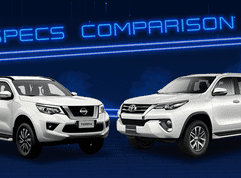 2020 Toyota Fortuner vs Nissan Terra Base Variant Specs Comparison