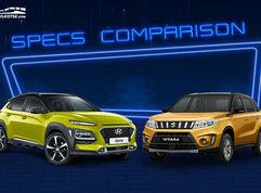 2020 Hyundai Kona vs Suzuki Vitara Comparison: Spec Sheet Battle