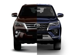 2020 Toyota Fortuner Old vs New: Spot the differences