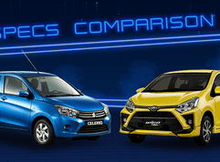 2020 Toyota Wigo vs Suzuki Celerio Comparison: Spec Sheet Battle