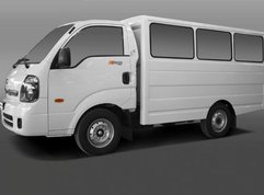 New Kia K2500 units for shuttle use to come with plastic dividers