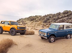 How the Ford Bronco has changed since 1966