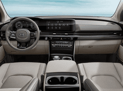 2021 Kia Carnival's interior is practically a high-class family lounge