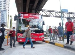 Concrete barriers on EDSA Bus lanes are dangerous and here is proof