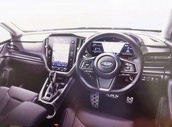 2021 Subaru Levorg leaked interior images hint massive touchscreen display