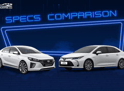 Hyundai Ioniq vs Toyota Corolla Altis Hybrid: Spec Sheet Battle