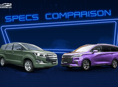 2020 Toyota Innova 2.0 E Gas AT vs Maxus G50 AT Premium: Spec sheet battle