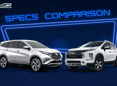 2020 Mitsubishi Xpander Cross vs Toyota Rush G: Spec sheet battle