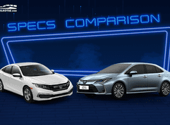 2020 Toyota Corolla Altis G vs Honda Civic S Comparison: Spec Sheet Battle