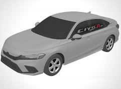11th-gen 2022 Honda Civic revealed from all angles in patent images