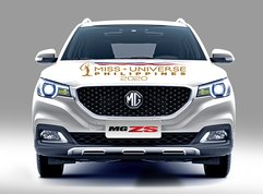MG ZS Alpha to take on driving duties for 2020 Miss Universe PH winner