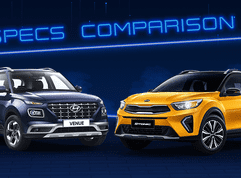 2021 Hyundai Venue vs Kia Stonic Comparison: Spec Sheet Battle
