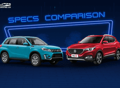 2021 Suzuki Vitara vs MG ZS Comparison: Spec Sheet Battle