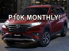 Toyota Rush available with P10K monthly amortization this February