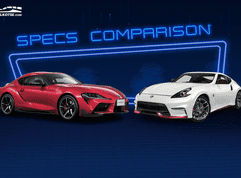 2021 Toyota Supra vs Nissan 370Z NISMO Comparison: Spec Sheet Battle