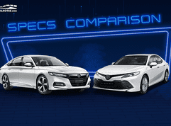 2020 Toyota Camry vs Honda Accord Comparo: Spec Sheet Battle