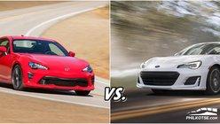 [Auto Brawl 101] Toyota 86 vs Subaru BRZ: Who's the King of Speed?