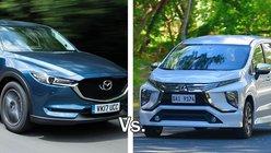 Auto Brawl: Mitsubishi Xpander MPV vs Mazda CX-5 crossover