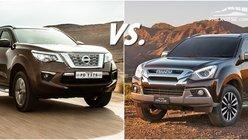 Nissan Terra vs Isuzu Mu-X: Battle of the macho SUVs!