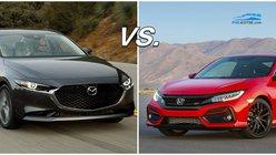 Honda Civic vs Mazda 3: A specsheet comparison of two popular beauties