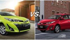 Toyota Vios vs Toyota Yaris: Practically the same car, different target market