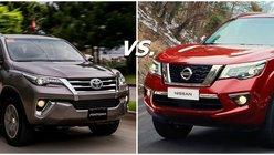 Nissan Terra vs Fortuner: The big & handsome battle it out!