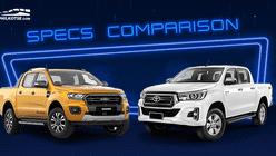 2020 Ford Ranger vs Toyota Hilux Comparison: Spec Sheet Battle