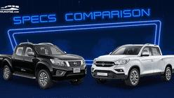 2020 SsangYong Musso Grand vs Nissan Navara Comparison: Spec Sheet Battle