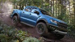 What's the top speed of the Ford Ranger Raptor?