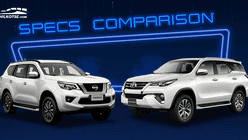 2020 Toyota Fortuner vs Nissan Terra Base Variant Specs Comparison