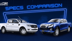2020 Ford Ranger vs Isuzu D-Max Base Variant Specs Comparison