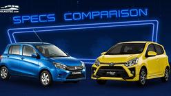 2020 Toyota Wigo vs Suzuki Celerio Comparison: Spec Sheet Battle