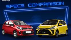 2020 Toyota Wigo vs Kia Picanto Comparison: Spec Sheet Battle