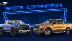 Sib Duel: Ford Ranger Raptor vs Ranger Wildtrak Biturbo Specs Comparison