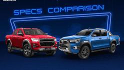 2021 Isuzu D-Max vs Toyota Hilux Comparison: Spec Sheet Battle