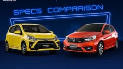 2020 Honda Brio vs Toyota Wigo Comparison: Spec Sheet Battle