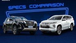 2022 Nissan Terra vs Mitsubishi Montero Sport Comparo: Spec Sheet Battle
