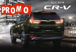 [Promo] Drive home a Honda CR-V 2018 with P50k all-in downpayment this Xmas