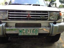 Almost brand new Mitsubishi Montero Diesel