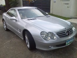 2001 Mercedes-Benz Sl-Class Automatic Gasoline well maintained