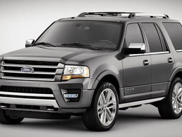 2017 Ford Expedition with loads of interior space