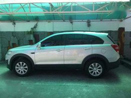 Silver Chevrolet captiva Automatic Transmission