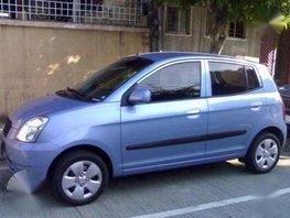 2006 KIA RIO A-T Blue Hatchback for sale