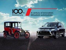 Celebrate a century of motoring heritage with Mitsubishi